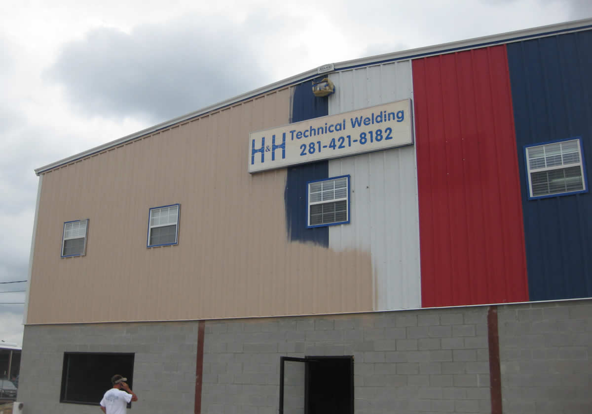 Commercial Painting – H&H Technical Welding